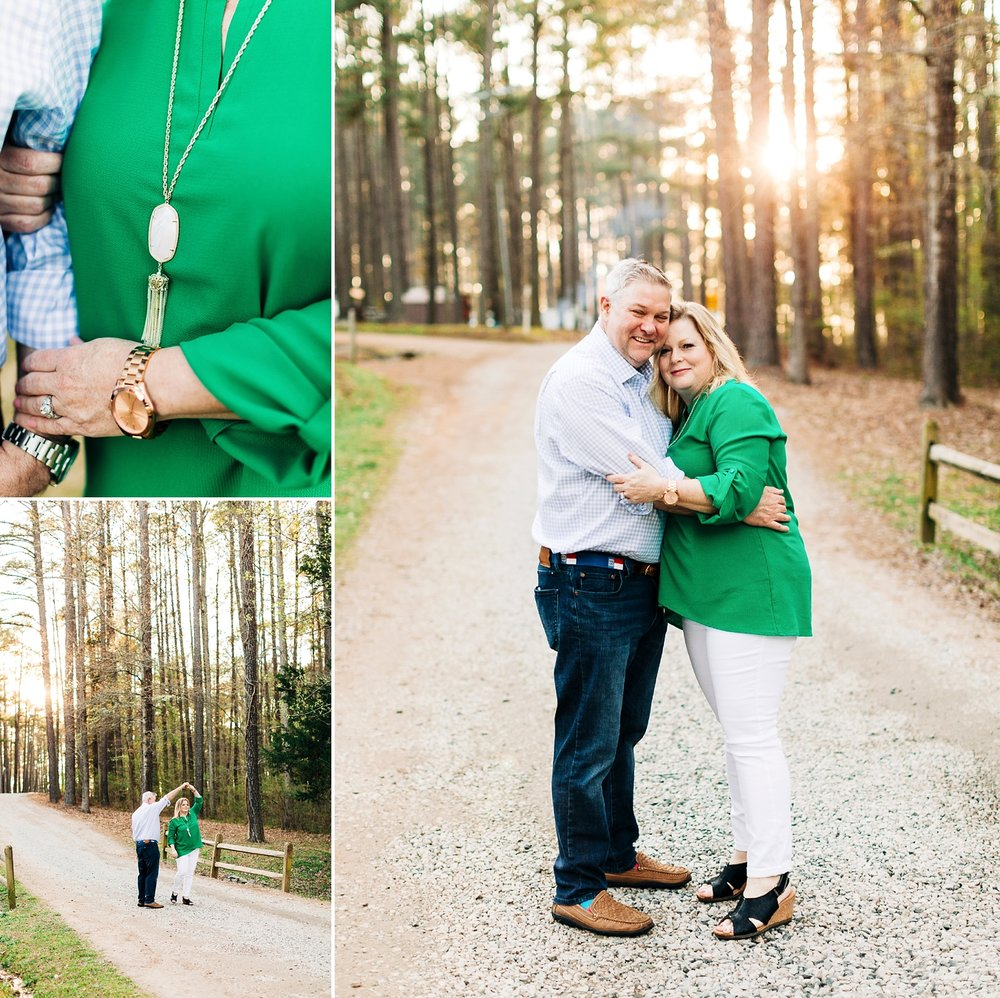 Lake Gaston engagement session by Rachael Bowman Photography