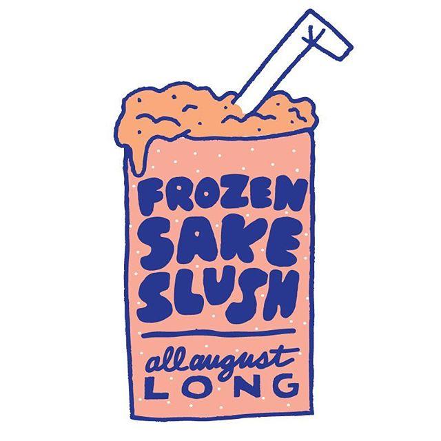 Summer calls for slushies