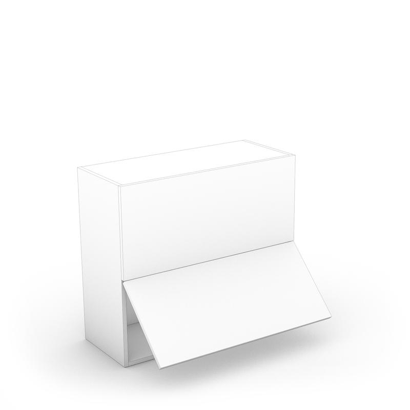 Drawer & Half Cabinet