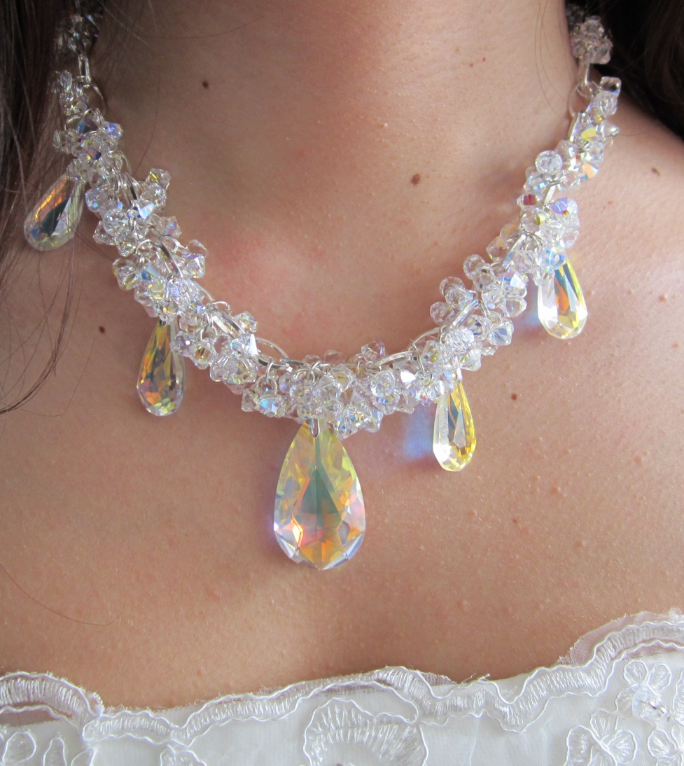 Statement Necklace by Gianna Seca using Swarovski  ® Crystals