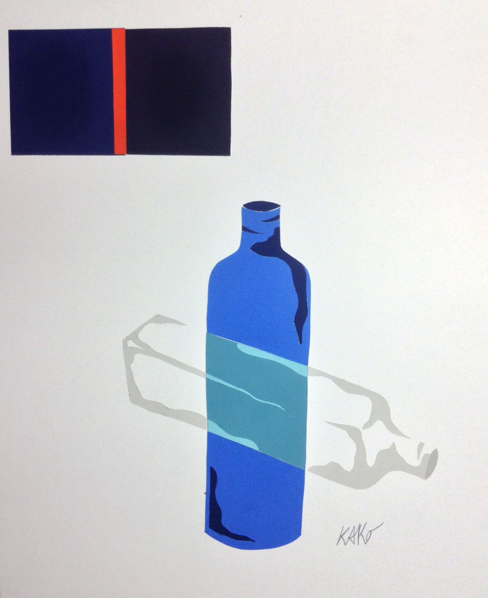 Radiant Bottles, 2014
