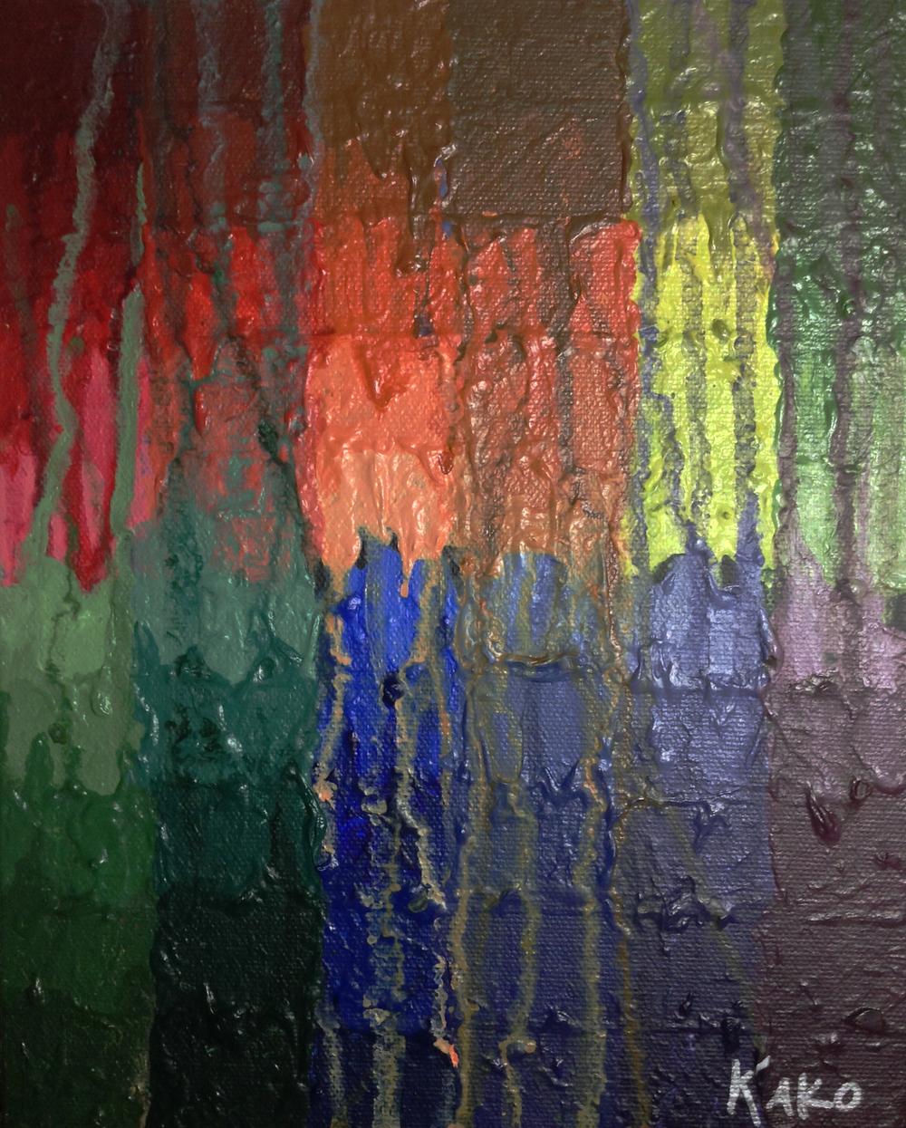 Melting Color Wheel, 2013