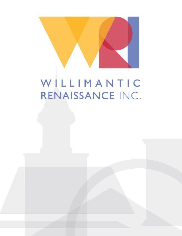 Willimantic Renaissance Inc. Logo, 2016