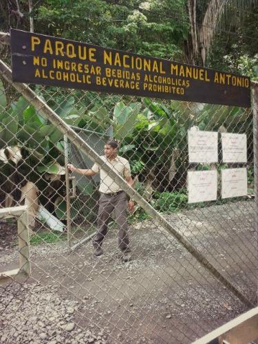 9:45 am, Manuel Antonio National Park