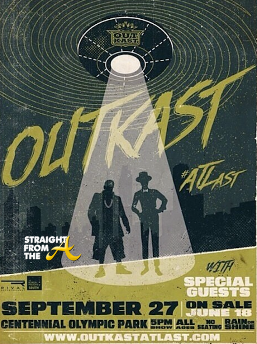 5. Outkast #ATLast OBVIOUSLY