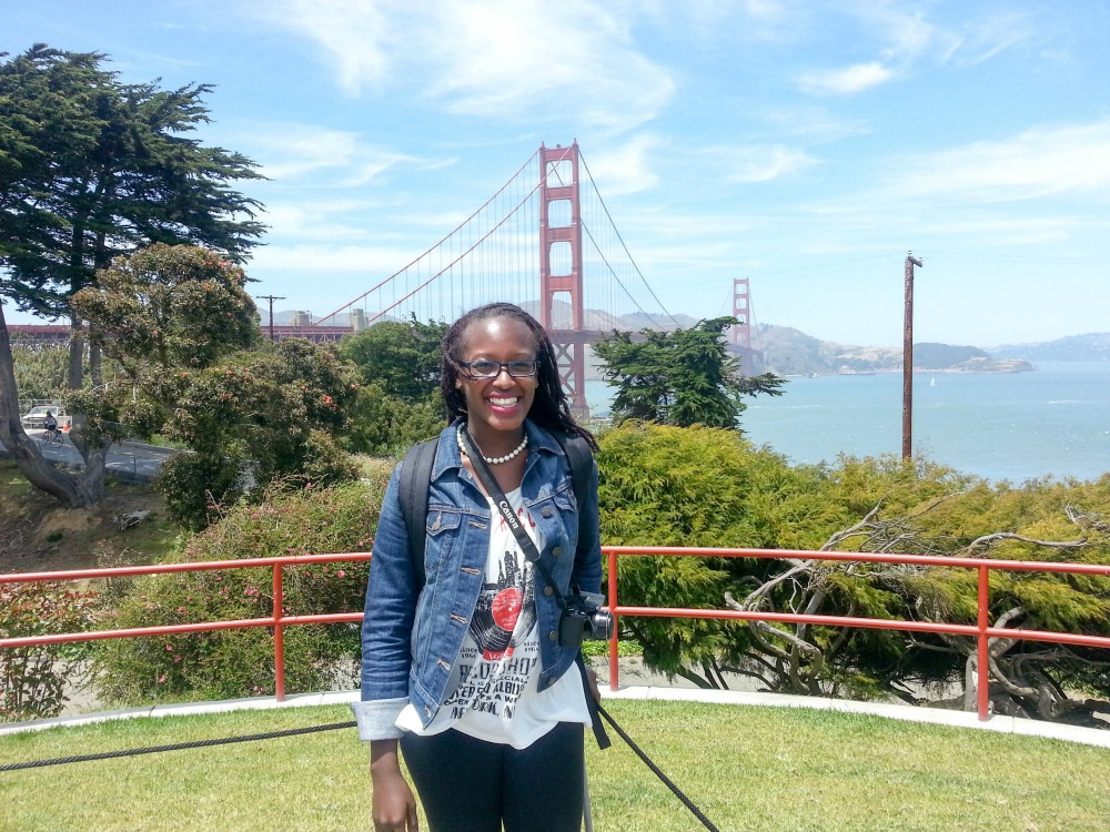 Keila at Golden Gate