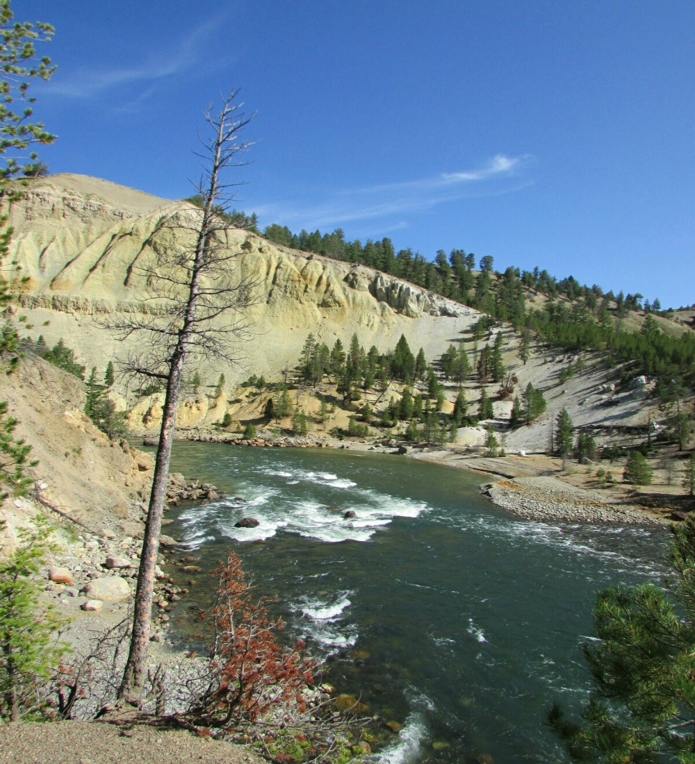 River flow Yellowstone