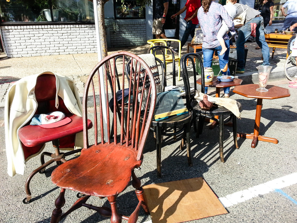 All of the Chairs - H St Festival