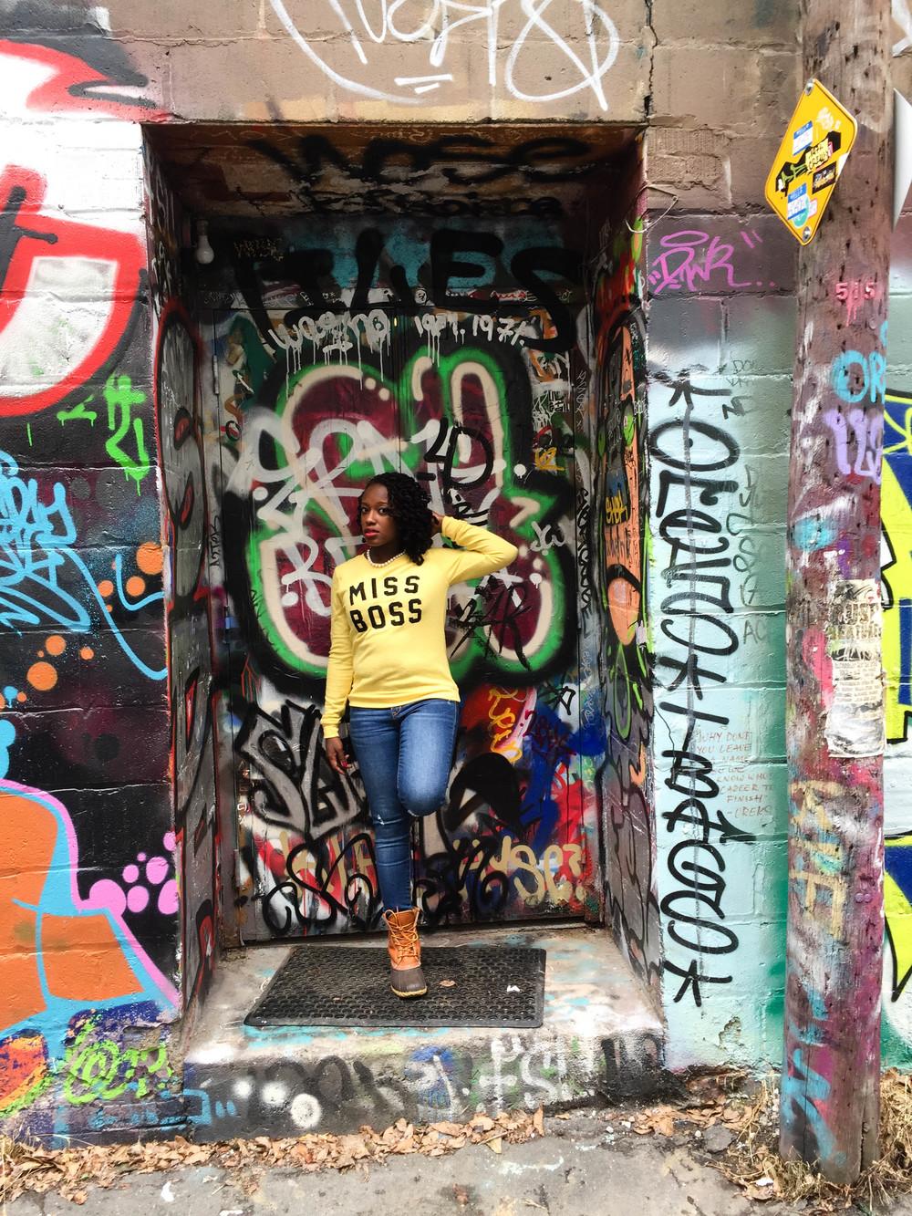 Graffiti Alley - Keila