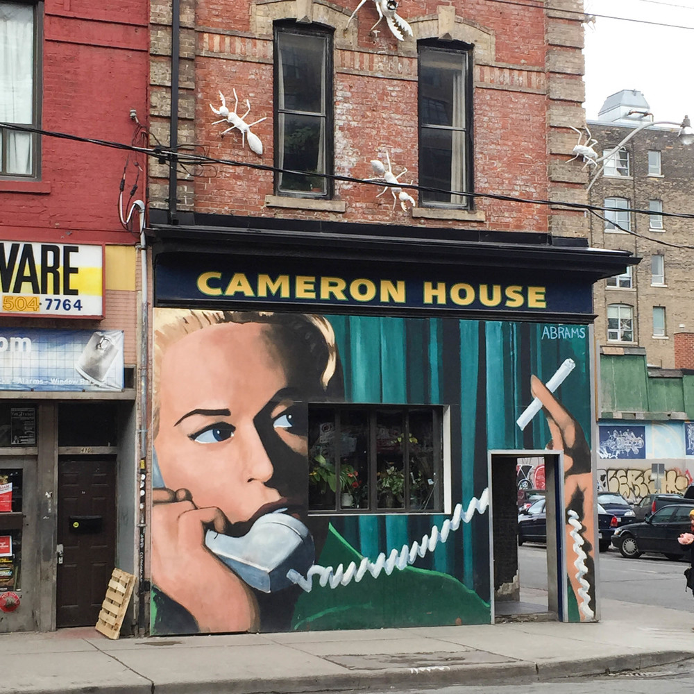 Cameron House Toronto Art