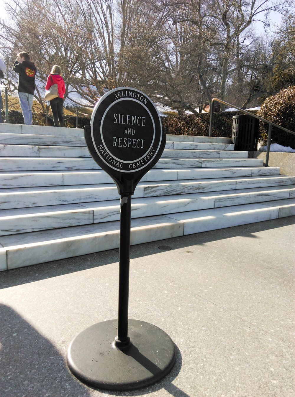 Arlington Cemetery Silence