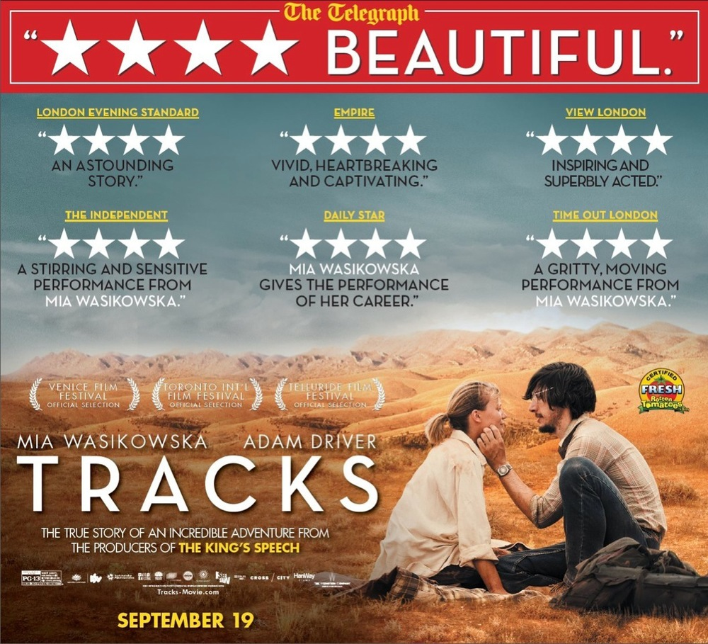 Tracks the movie