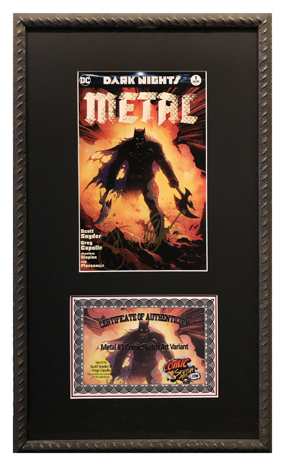 Collectable Comic Book and Certificate1123.jpg
