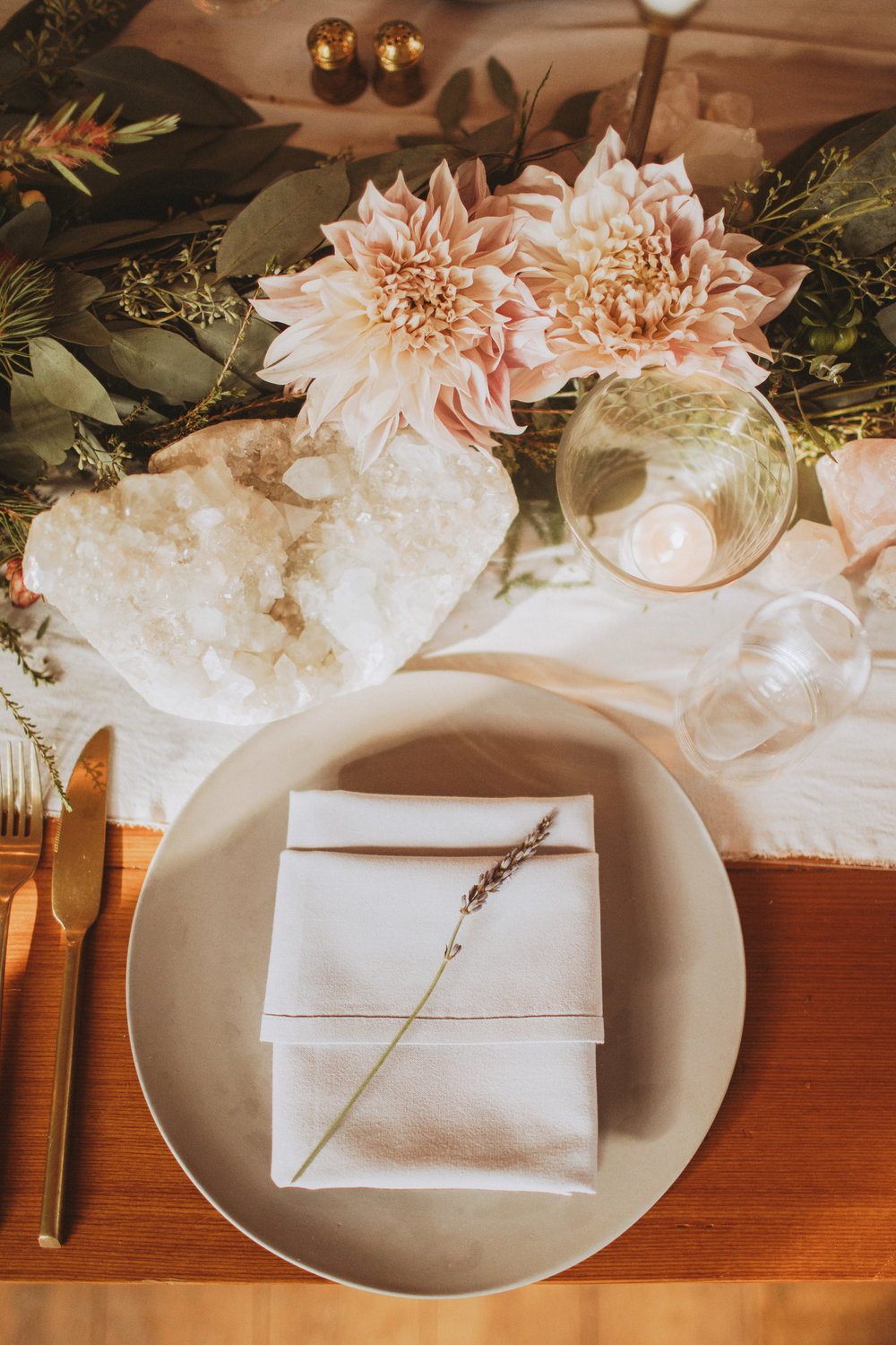 wile events place setting
