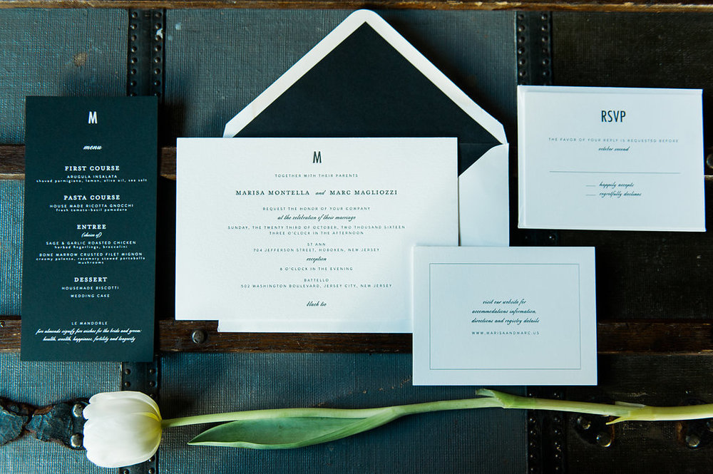 wile events invitation paper suite