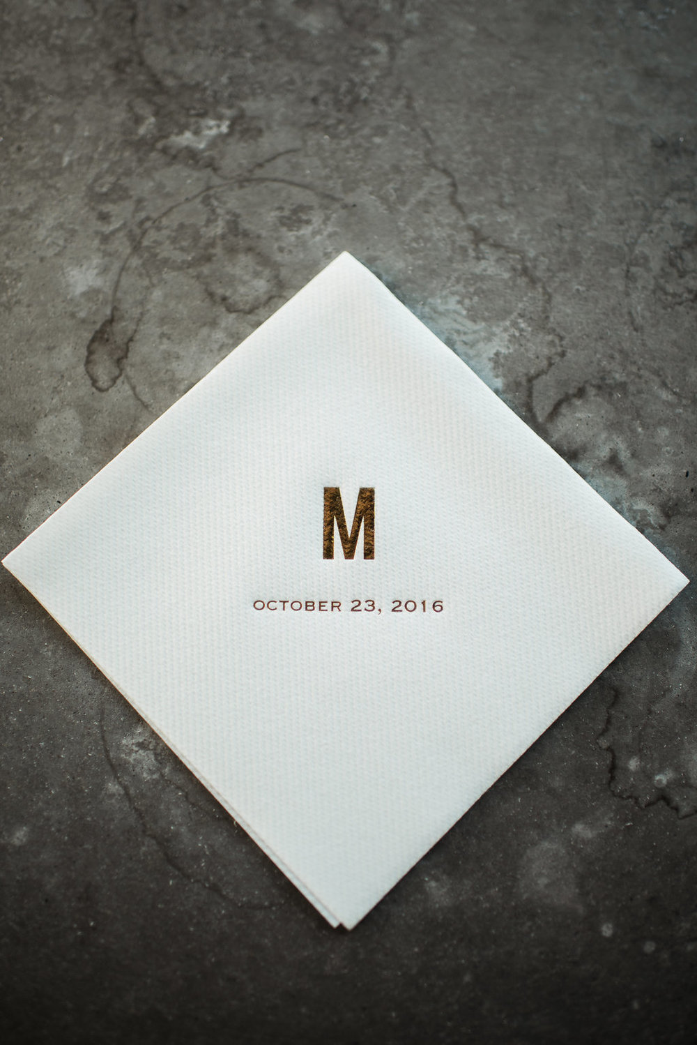 wile events  custom napkins