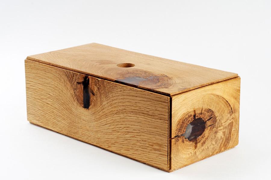 Вуд-блок для хранения украшений