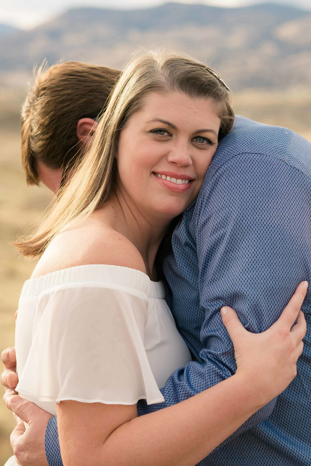 painted hills Oregon engagement