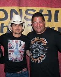 Brad Paisley With Jacksonville, Florida Private Detective Firm Owner James Wojnar