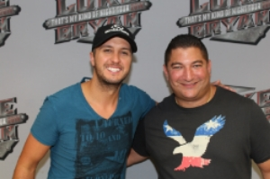 Country Music Artist Luke Bryan With A1A Investigators Owner, James Wojnar, out of Jacksonville, Florida.