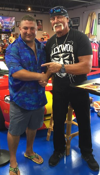 Hulk Hogan With Florida Private Investigator James Wojnar