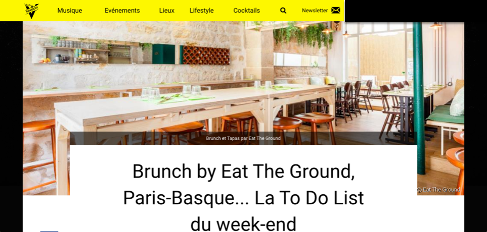 Villa Schweppes, Juin 2018 - La To-do du weekend: Brunch Ephémère