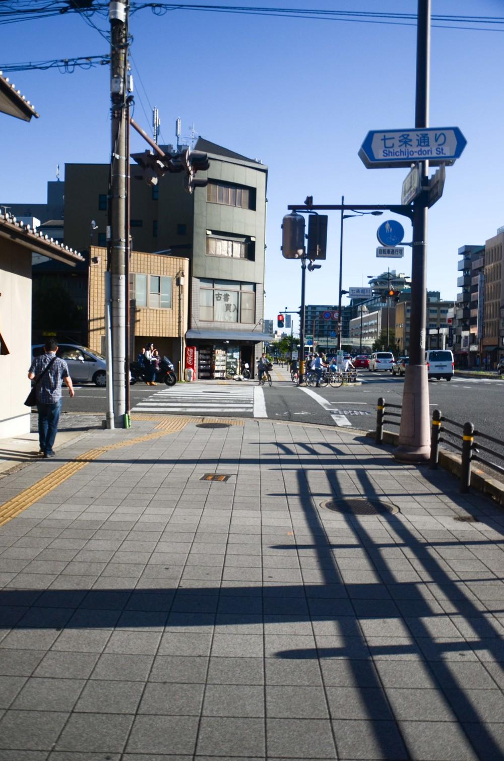 Звичайна вулиця в Кіото