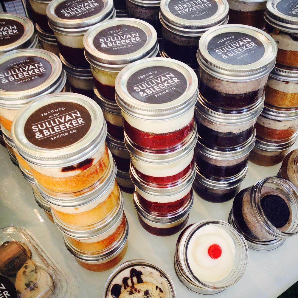 Sullivan & Bleeker Jar Cakes