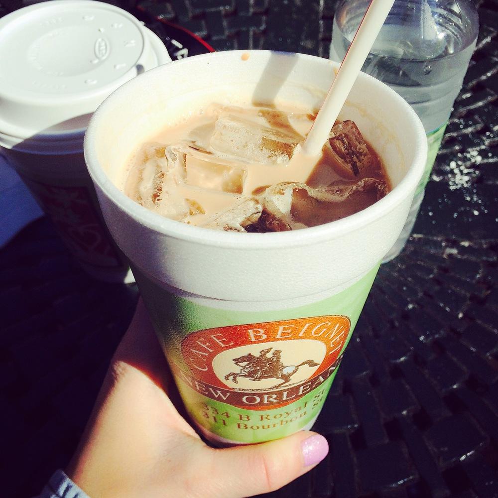 Mmmm Iced Cafe Mocha...