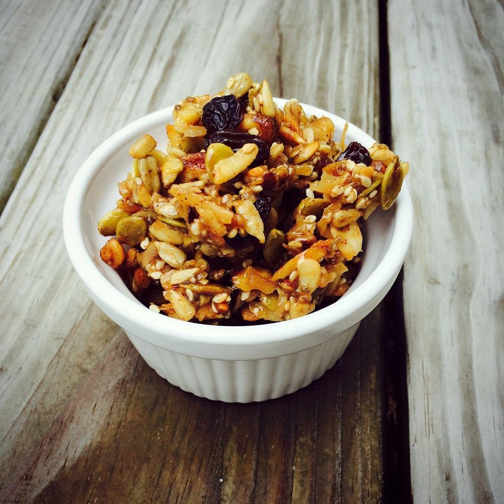 Grain-Free Granola Bites