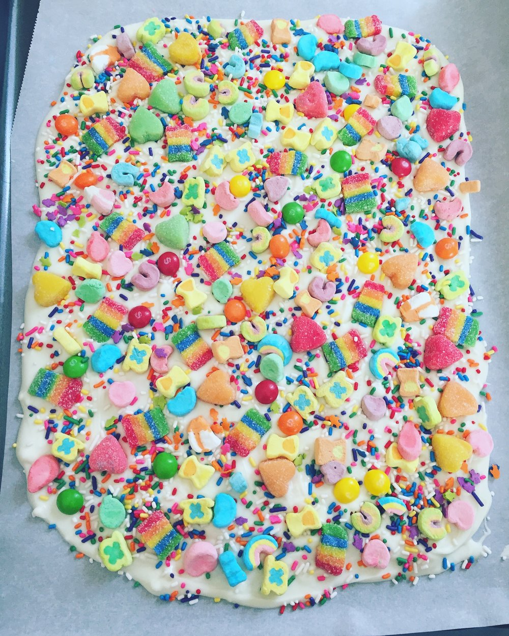 Unicorn Rainbow Bark