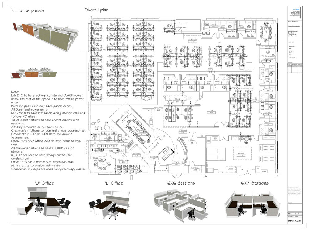 Systems furniture | AutoCAD