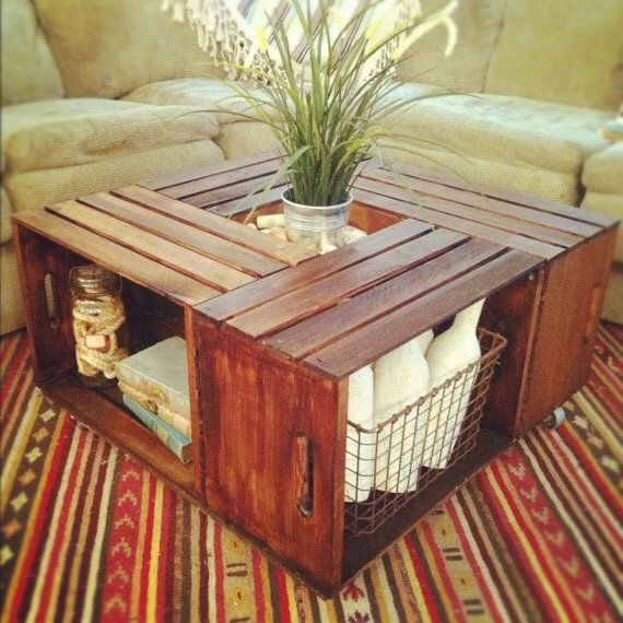 Functional coffee table!