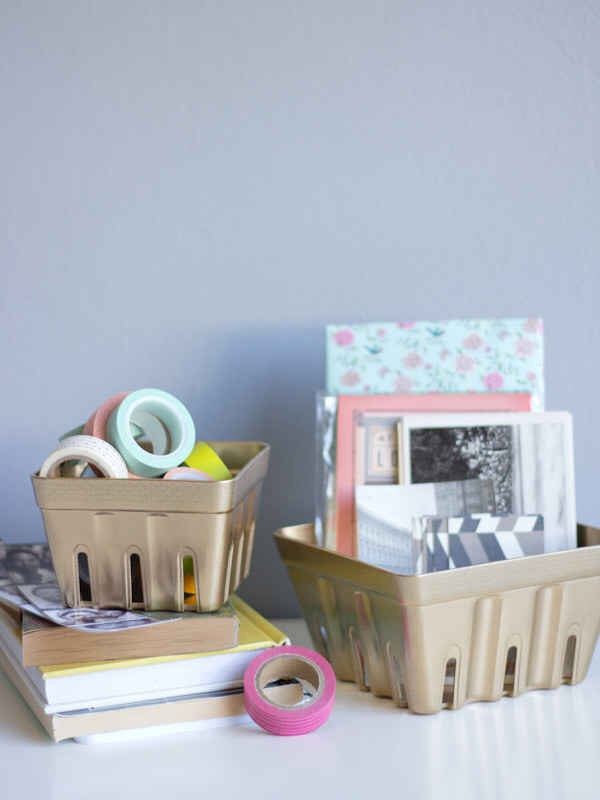 Use some fun organizers that you don't typically see in the office!