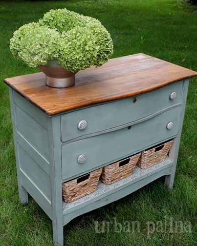 Remove a drawer, add some texture!
