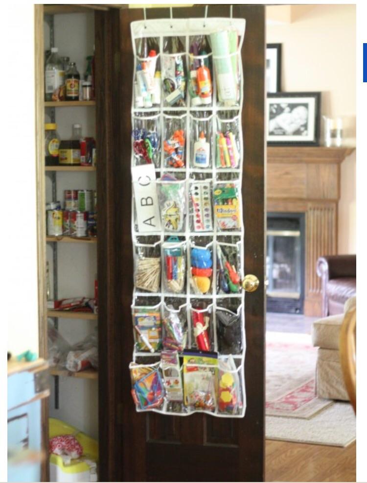 Over the door craft supplies
