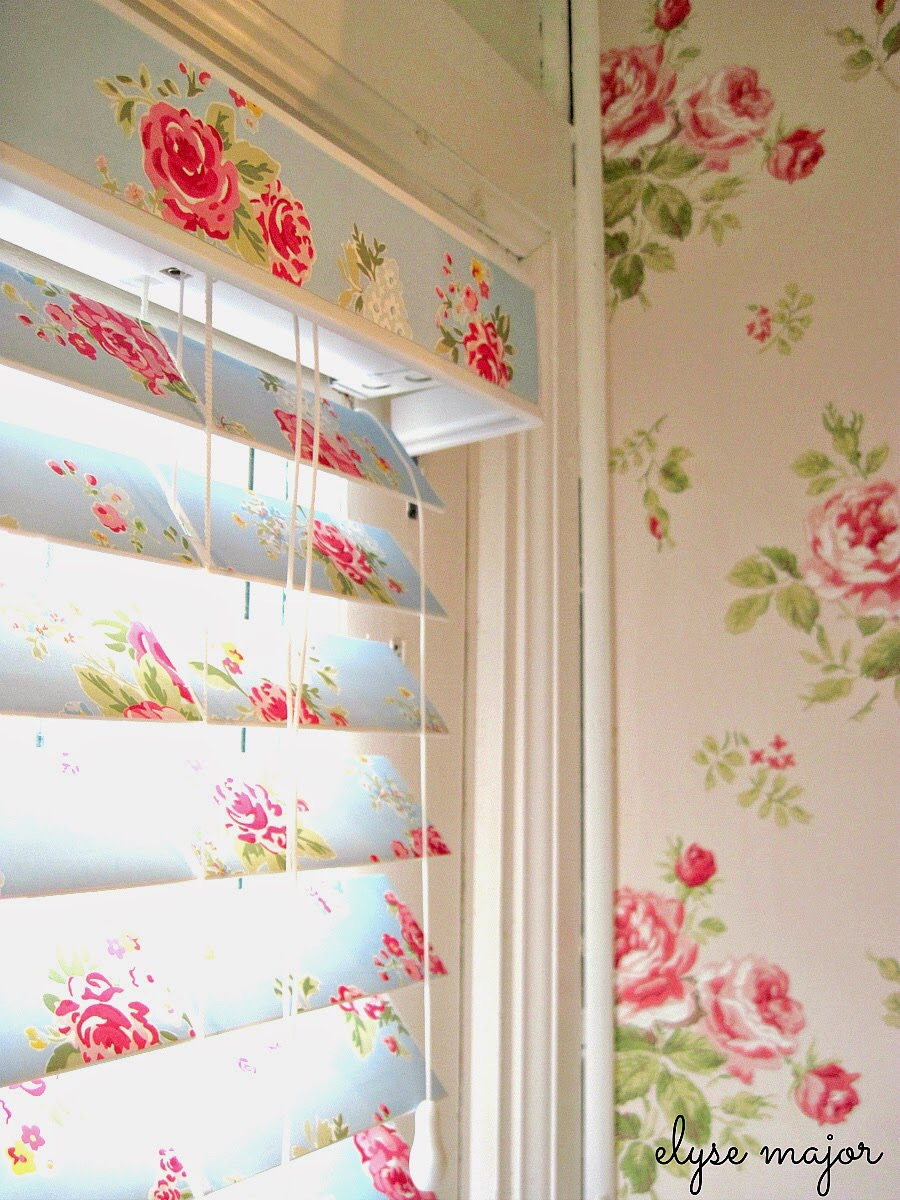 Line your blinds