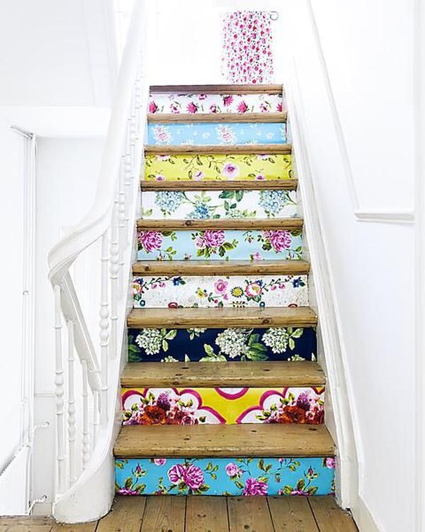 Accent your stairs