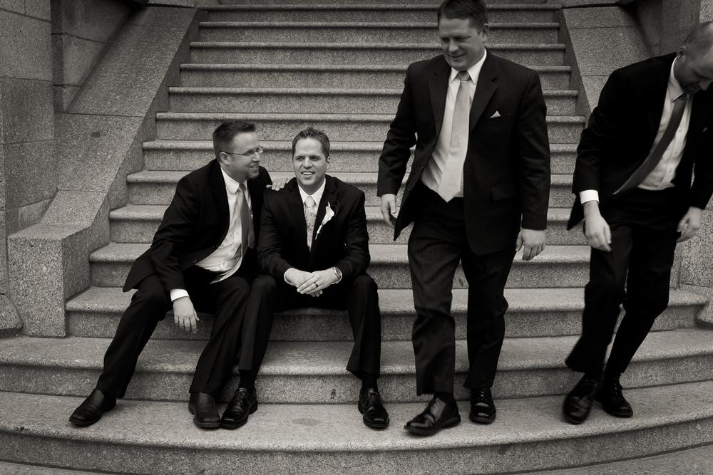 Salt Lake Temple Wedding Photo