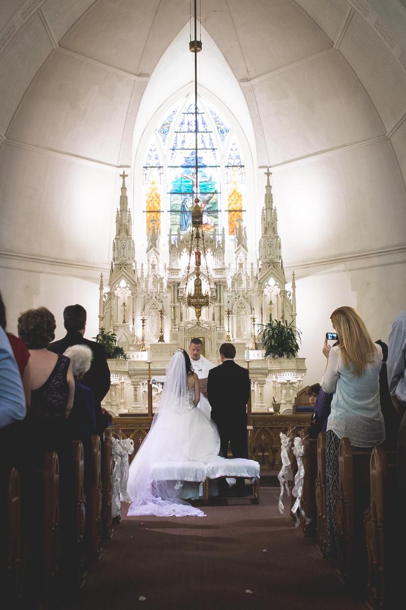 Utah Catholic Wedding