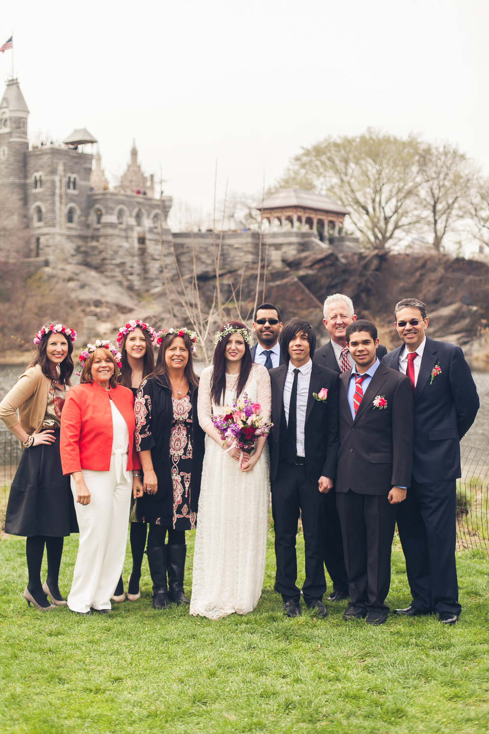 Shannon And Raphael Central Park Elopement Photography