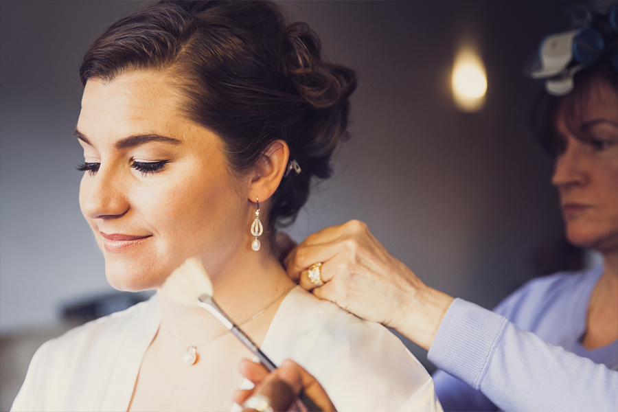 New York Wedding Photography Bride Getting Ready Ravel Hotel