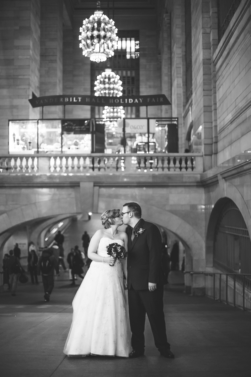 Festive NYC Elopement At Grand Central And Bryant Park