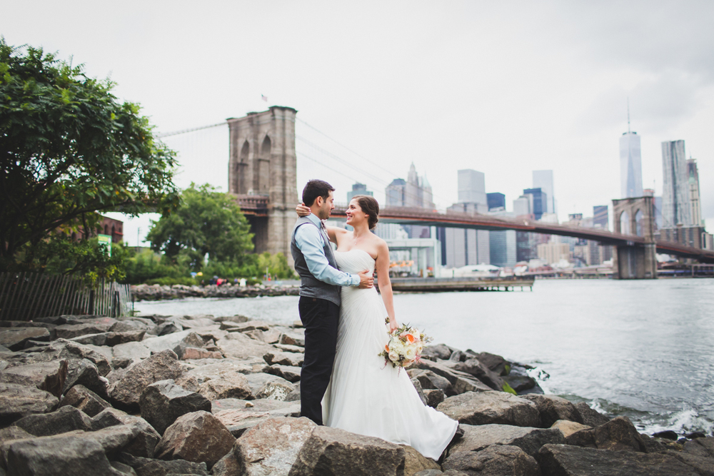 Brooklyn Bridge Park Fornino S Wedding Brooklyn Ny