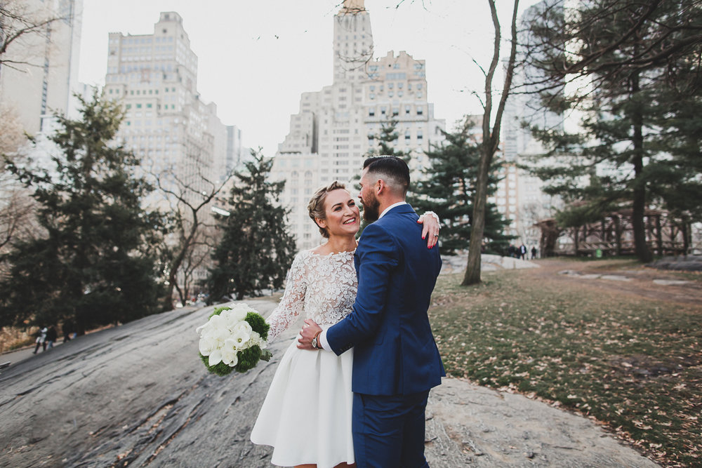Central Park and City Hall Elopement, NYC - Katie and Daniel ...