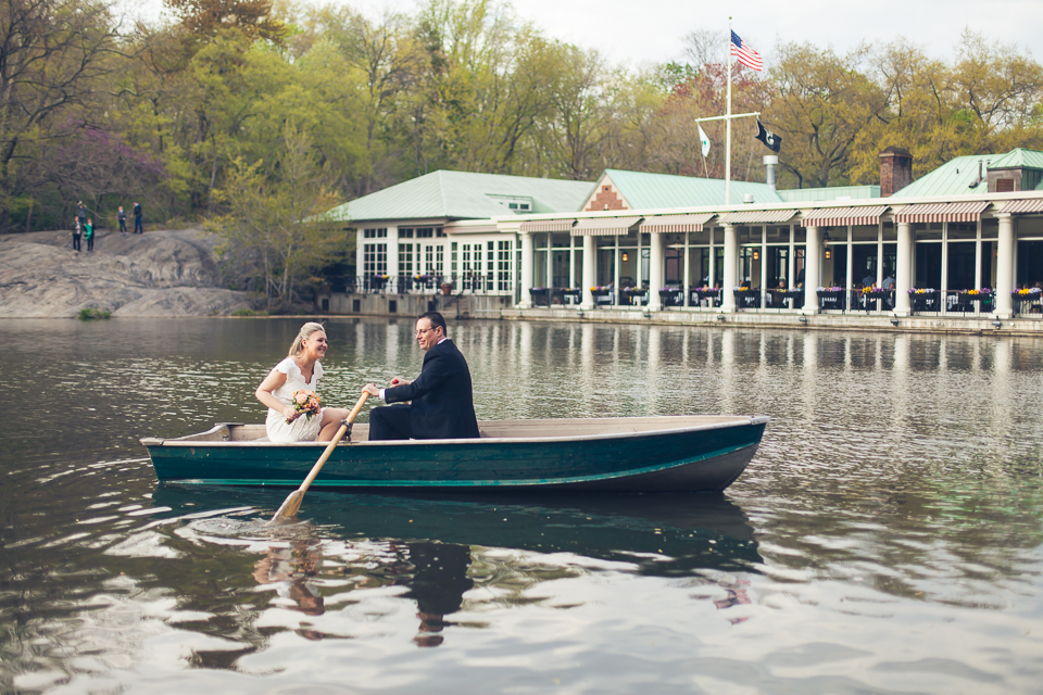 Row a Boat in Central Park