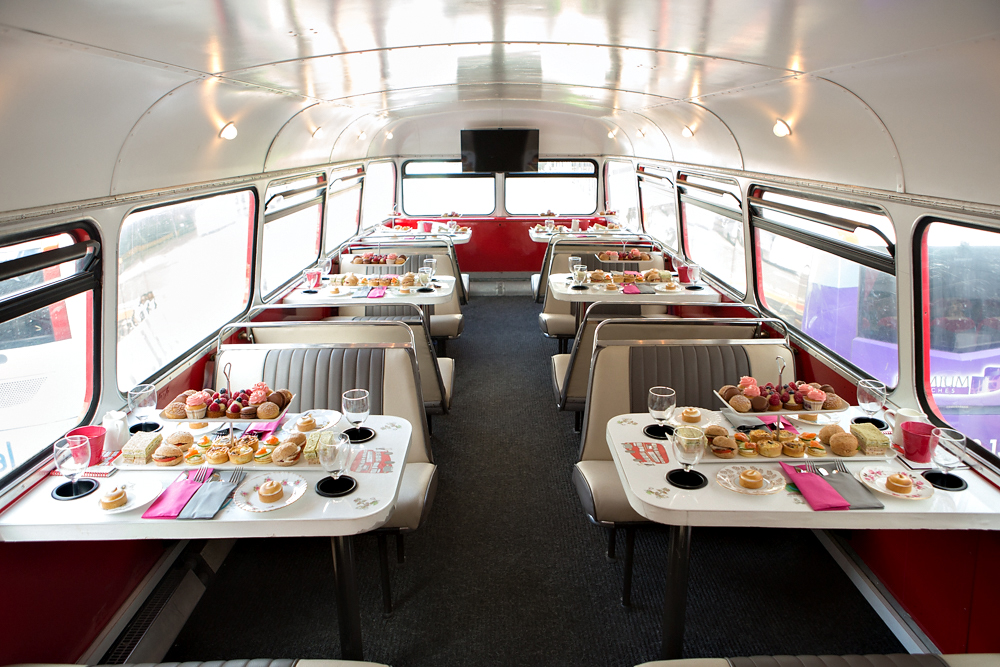 The top deck of the bus - (Image by Friends of Glass)
