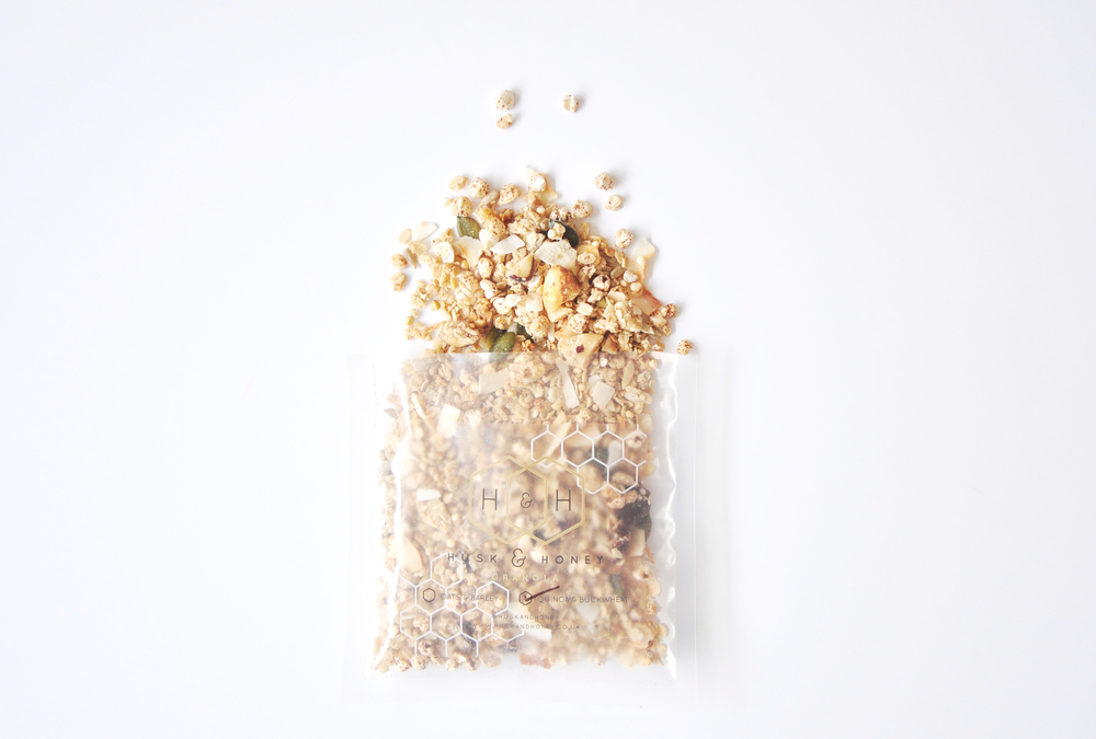 Husk & Honey Quinoa and Buckwheat Granola