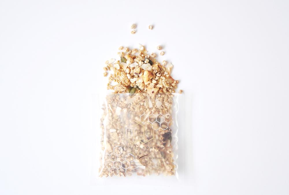 Husk & Honey Quinoa and Buckwheat Granola