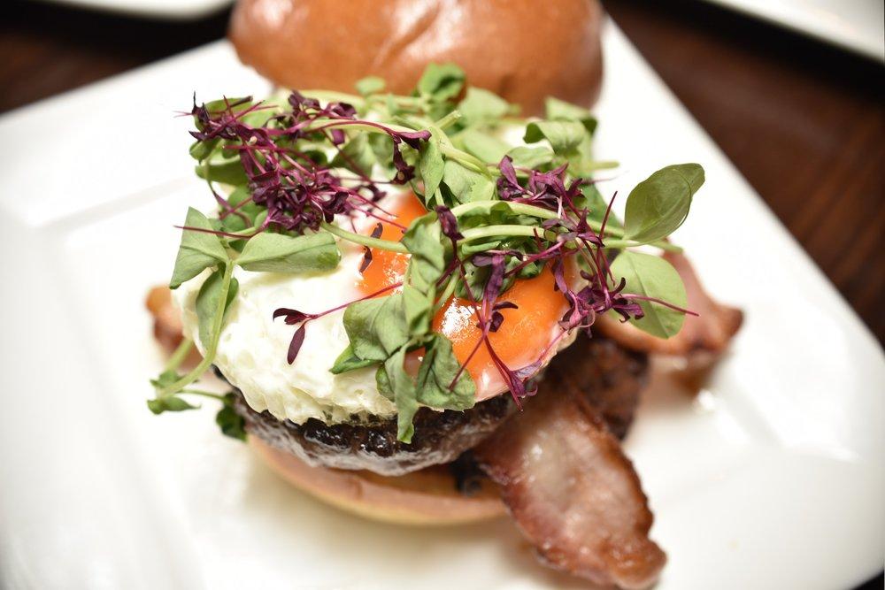 Brunch Burger - £8.95